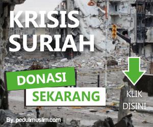 donasi peduli muslim suriah