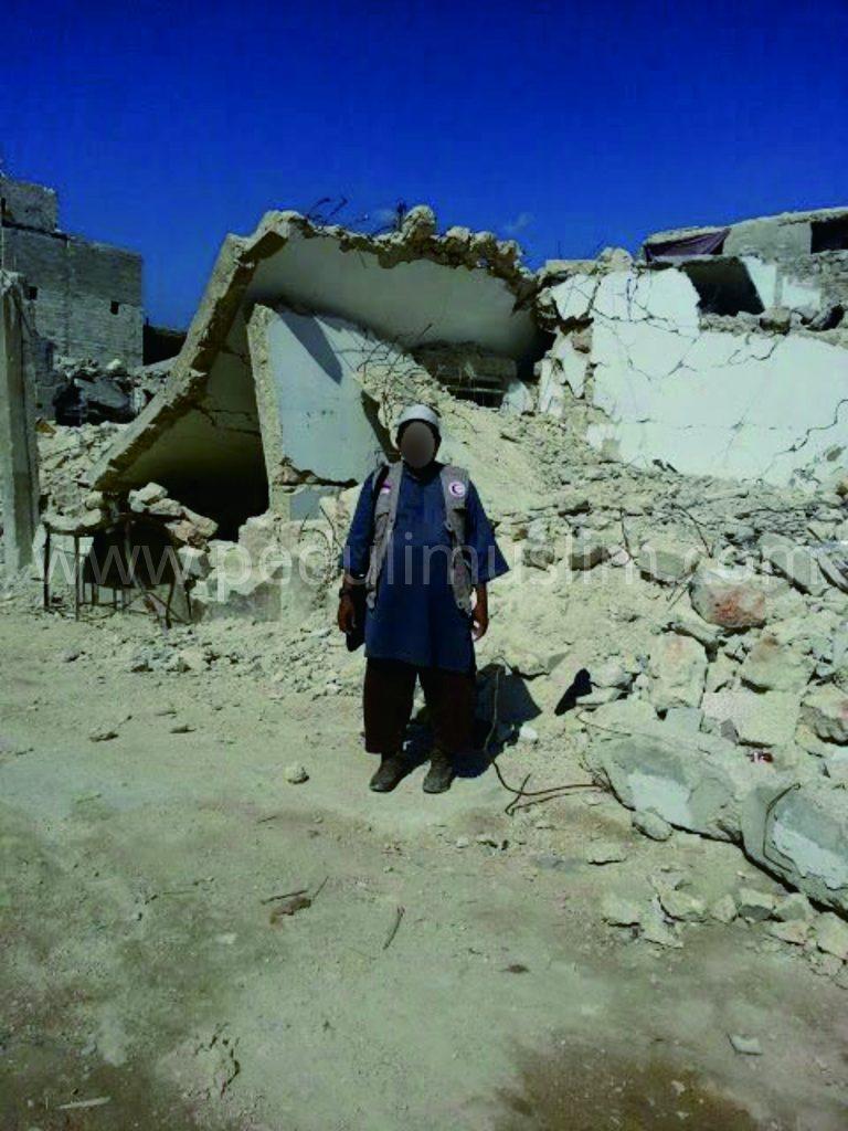 Reruntuhan kota Aleppo | Peduli Muslim