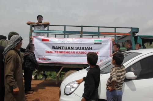 Bantuan kemanusiaan dari pendengar Radio Rodja