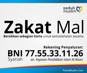rekening penyaluran zakat mal peduli muslim