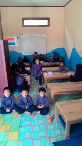 Anak-anak TK di kelas